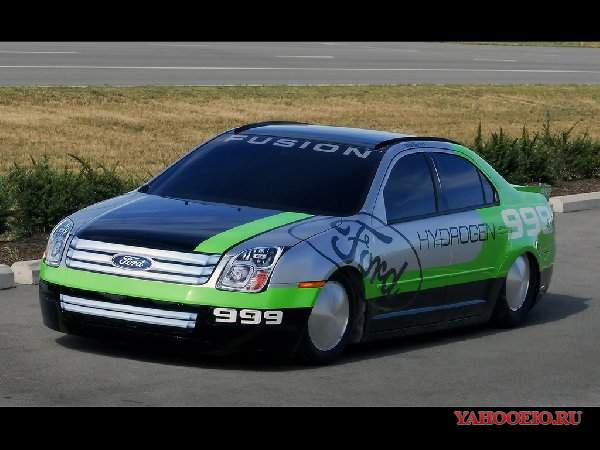 2007 Ford Fusion Hydrogen 999 Land Speed Record