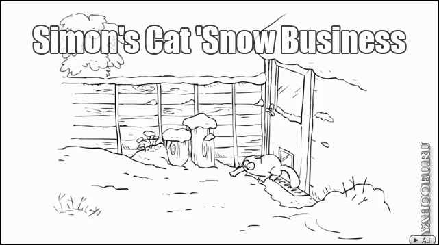 Simon's Cat 'Snow Business