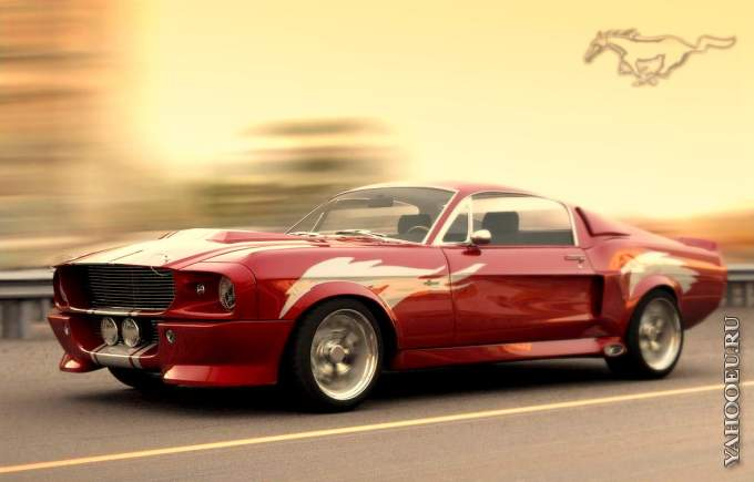 Ford Mustang Shelby GT500 Eleanor 1967 года