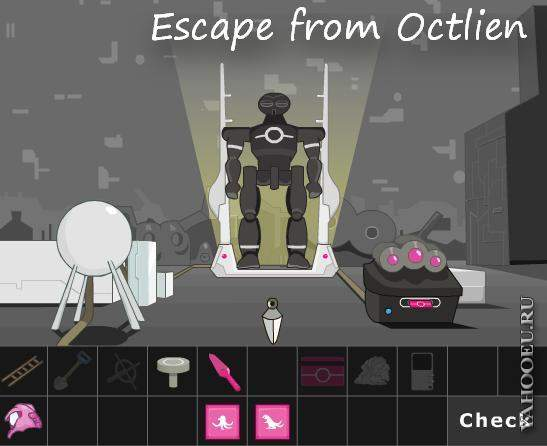 Escape from Octlien