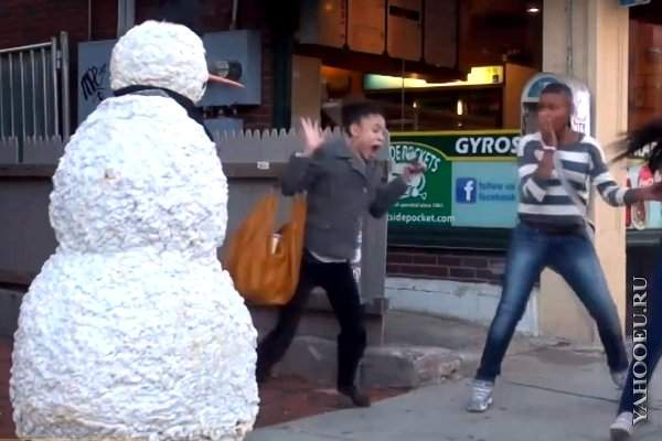 Snowman Prank Season 2 Episode 1