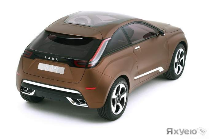 Lada X Ray Concept Revealed In Moscow Lada X Ray 4. Lada X Ray Concept