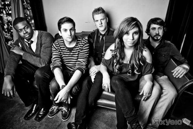 "Pentatonix ft. Lindsey Stirling ""Radioactive"" (Imagine Dragons cover)"