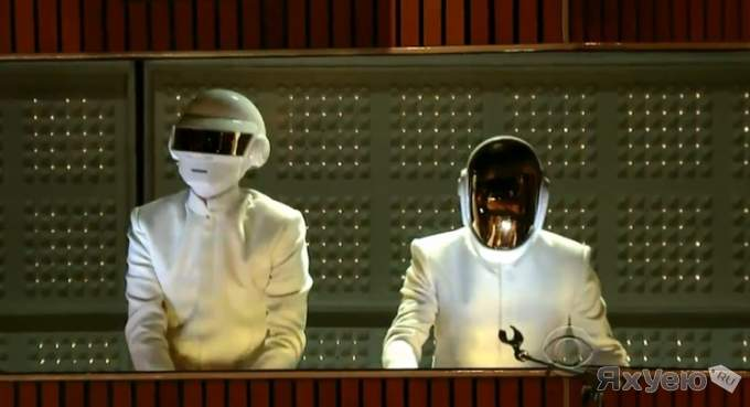 "Daft Punk & Pharrell, Stevie Wonder ""Get Lucky"""